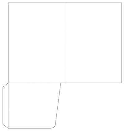 A5 Non Capacity Folder