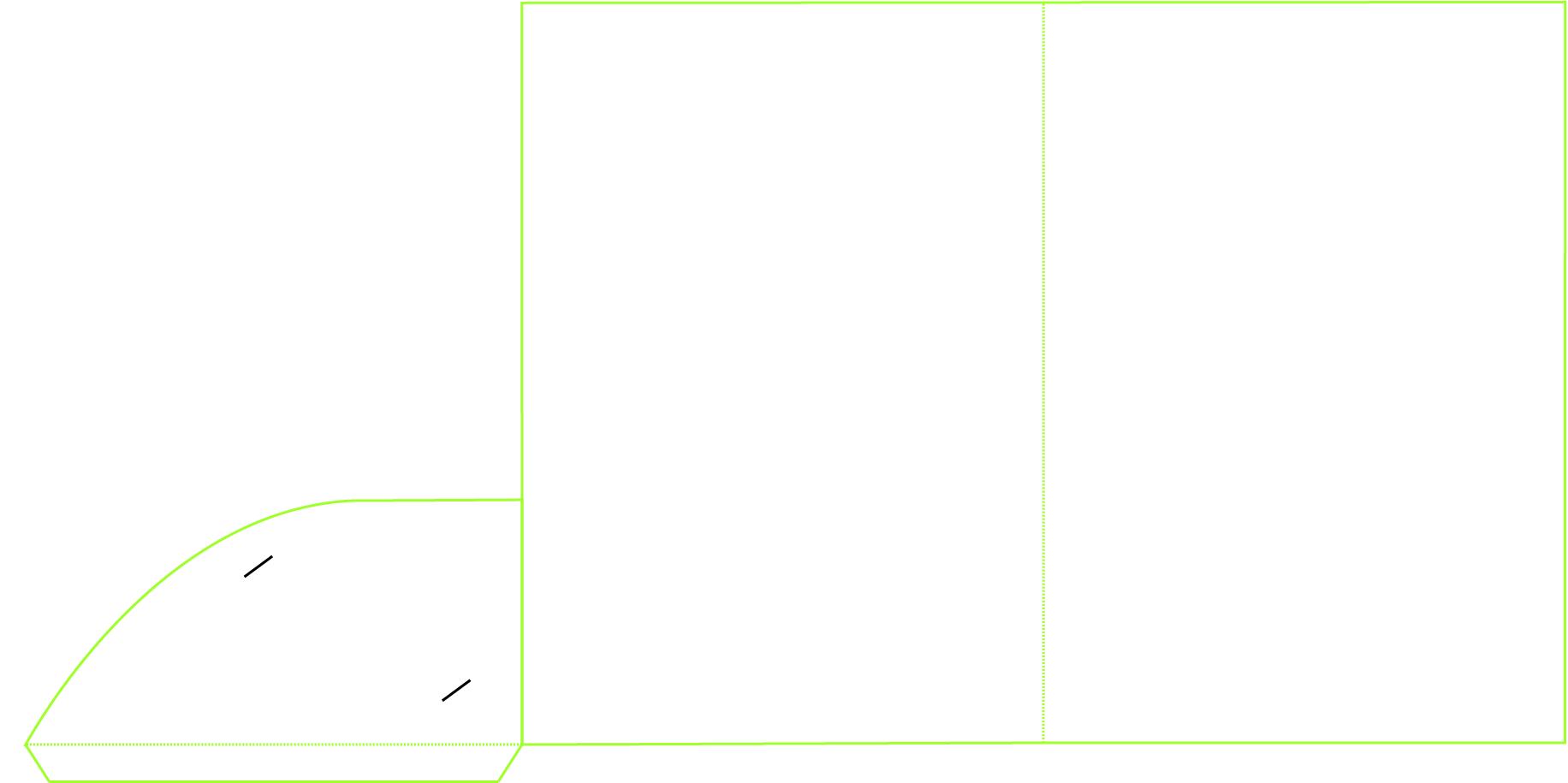 A4 non Capacity Folder